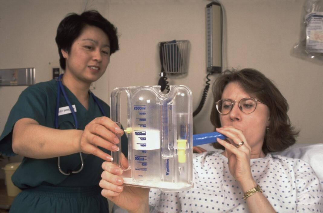 breathing exercise machine